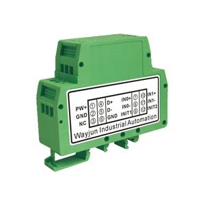 2-CH 4-20mA/0-10V/0-5V to RS485/232 Converter with Modbus