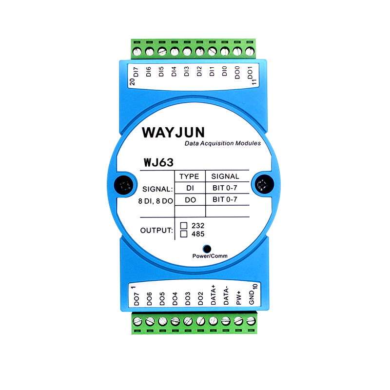 8-channel DI high-speed counter, 8-Channel DO support PWM output